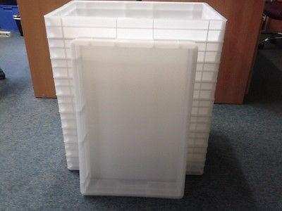 Stapelkasten Pizzateigbehälter ,Pizzaballenbehälterl, 20 Stck,Top ,60 x 40 cm ,