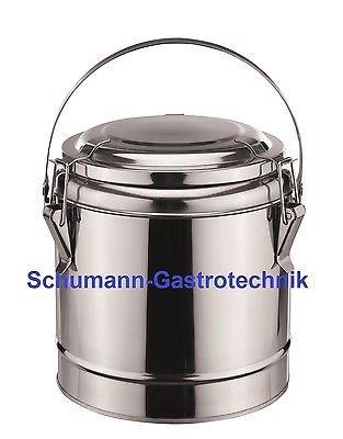 Thermobehälter 4 Liter, doppelwandig, Deckel mit Dichtung