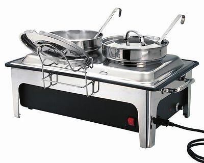Elektro-Chafing Dish Suppenstation mit 2 Suppentöpfen á 4 Liter Bartscher