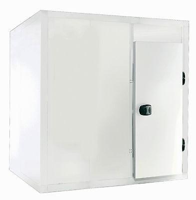 Kühlzelle 1800 x 1800 x 2000 mm, 75er Wandstärke, mit Aggregat Neuware