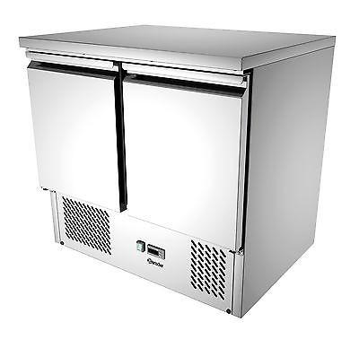 Mini Kühltisch mit Umluftkühlung mit 2 Türen von Bartscher