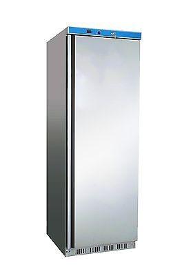 Kühlschrank Edelstahl mit Umluftventilator HK 400 s/s 350 Liter