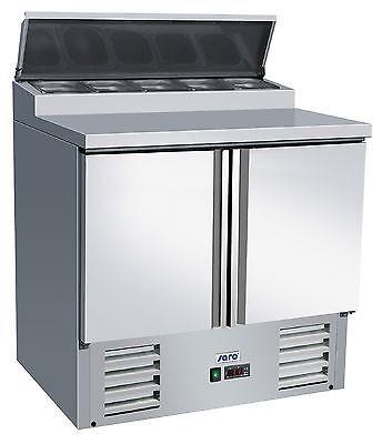 Zubereitungstisch / Pizzakühltisch Modell FRAN 2-türig