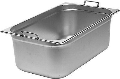 Gastronormbehälter 3 Stück mit Fallgriffen, 1/1 GN, 150 mm tief