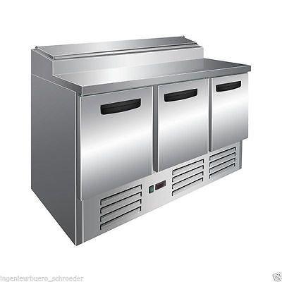 Pizzakühltisch, Kühltisch, Zubereitungstisch, mit Mod. ECO PS 300 von SARO