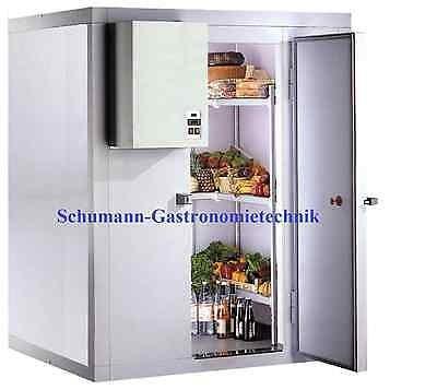 Kühlzelle 2400 x 1500 x 2000 mm, mit Aggregat Neuware