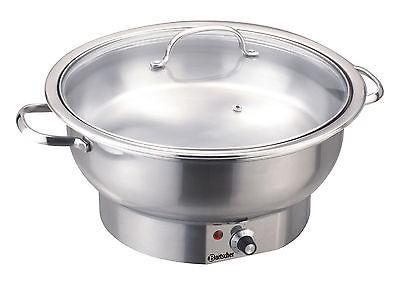 Elektro-Chafing Dish rund, Inhalt 3,8 Liter, Bartscher