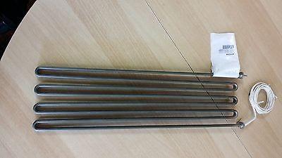 Heizkörper, Heizung 1280W 230V, 4 Wid., L440 mm B112 mm passend f. Palux Grill