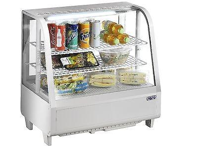 Tisch-Kühlvitrine Katrin 100 L weiss von Saro