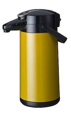 Pumpkanne, Airpot Furento, Farbe Gelb-Metallic, Bonamat, Neu