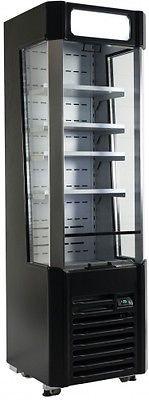 Kühlvitrine, Kühlregal KLARA 132 Liter von Saro B 500 x T 519 x H 1700 mm