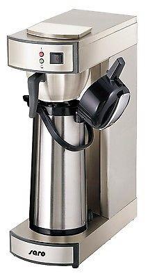 Kaffeemaschine Modell SAROMICA THERMO 24 + 1000 Korbfilter + Meßbecher