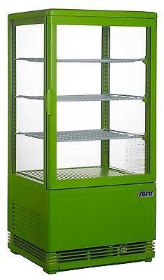 Kühlvitrine Modell SC 70 grün, Umluft, Neu