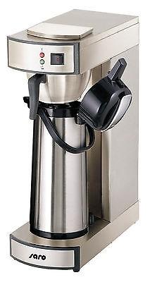 Gastro-Kaffeemaschine + 1000 Korbfilter + 2. Pumpkanne
