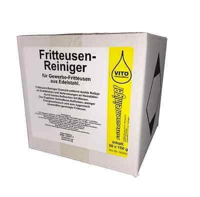 VITO® Frittieusenreiniger - 20 x 150 g