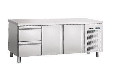 Kühltisch mit 1x 2 Schubladen + 2 Türen , 1875x700x850 mm von Bartscher