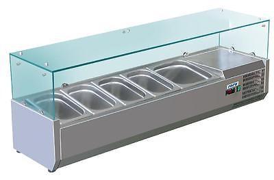 Aufsatz-Kühlvitrine Modell VRX 1200/380 von Saro