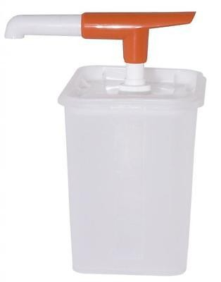 Saucenspender Pumpspender CONTACTO für Ketchup, Majo 3 Liter