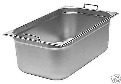 Gastronorm Behälter mit Griff 3 St. 1/3 GN 150 mm Tief