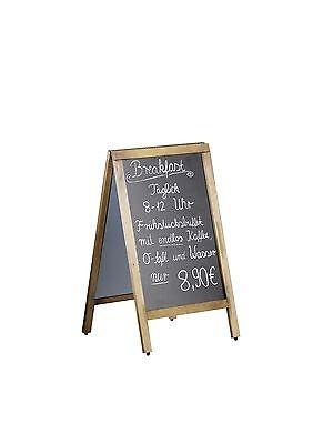 Kundenstopper Menütafel/ Tafel, CANA doppelseitig 500 x 850mm + Marker, Kreide