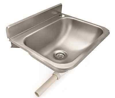 Handwaschbecken Edelstahl inkl. Zubehör
