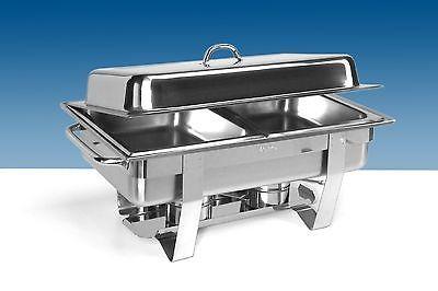 Chafing Dish, Modell ANOUK 2, inkl. 2 x 1/2 GN-Behälter 65 mm tief, von Saro
