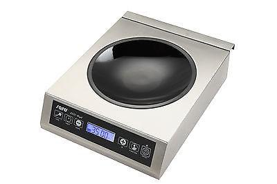Wok-Induktionskocher inkl. Wok und Deckel Modell LOUISA von Saro