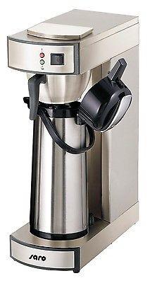 Gastro Kaffeemaschine mit 2. Pumpkanne + 1000 Filter + Kaffeestation + Meßbecher