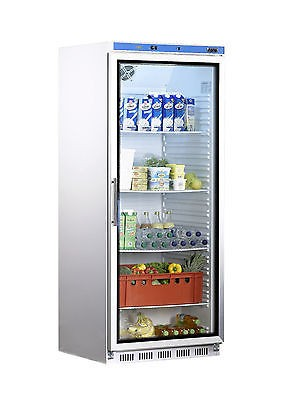 Kühlschrank mit Glastür 600 Liter, Umluftventilator HK 600 GD von Saro