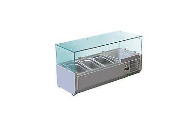 Aufsatz-Kühlvitrine Modell VRX 955/380 3 x 1/3 von Saro