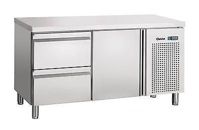 Umluftkühltisch mit 1Tür, 2 Schubladen 1342 x 700 x 850 mm, von Bartscher