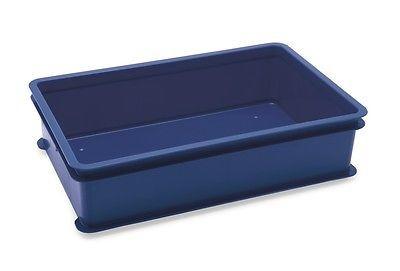 Stapelkasten Pizzateigbehälter mit Deckel, 5 Stück