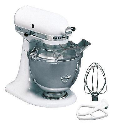 Küchenmaschine KitchenAid K45 weiß