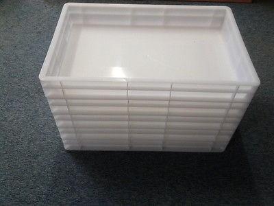 Stapelkasten/Pizzateigbehälter 5 Stück, 60 x 40 cm