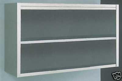 Wandhängeschrank offen in CNS 2000 x 400 x 650 mm