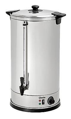 Heißwasserspender, Glühweintopf, 28 Liter Edelstahl von Bartscher
