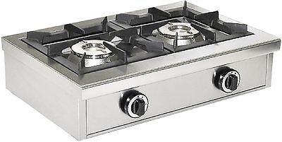 Gas Kocher Modell GKS 2 , 2 Flammen ,2 x 6,5 KW , Neu , Saro