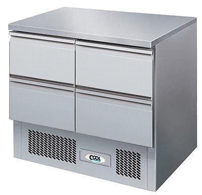 Universalkühltisch KT 9 4Z, mit 4 Schubladen