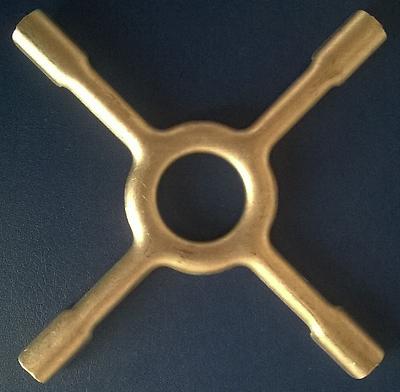 Reduzierstern/Topfkreuz für Gasherde Ø 13 cm, 1 Stück