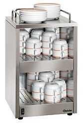 Tassenwärmer für ca. 72 Tassen in Edelstahl, von Bartscher