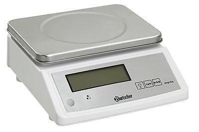 Elektronische Küchenwaage Teilung 2 Gramm von Bartscher Wiegeber. bis 15 kg
