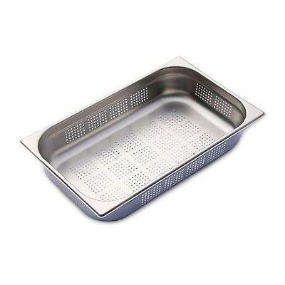 Gastronormbehälter 2 Stück 1/1 gelocht,100 mm tief